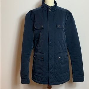 Ted Baker black quilted coat  6